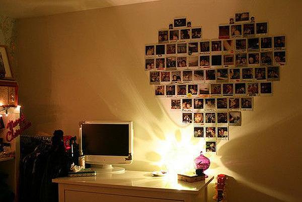 Что сделать на стене в комнате своими руками 779